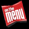 On the menu logo